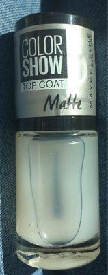 Maybelline Nagellack Color Show 81 Matte About It - Produit
