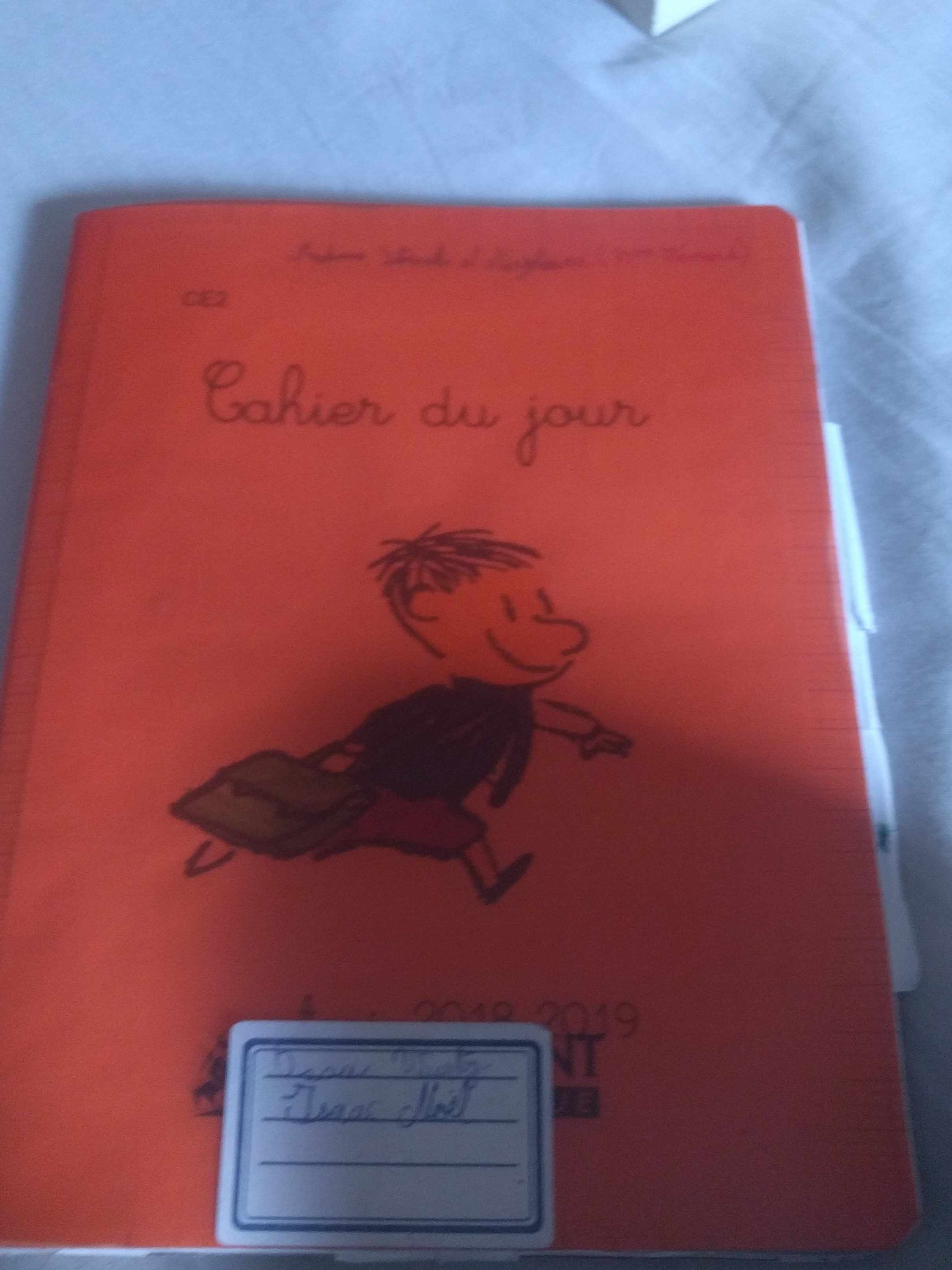 cahier du jour - Product - fr