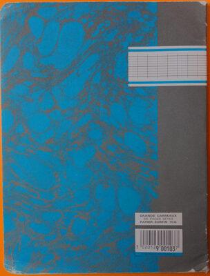 Grands carreaux 96 pages Seyes - Product - en