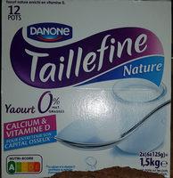 TAILLEFINE NATURE 0% - Produit - fr