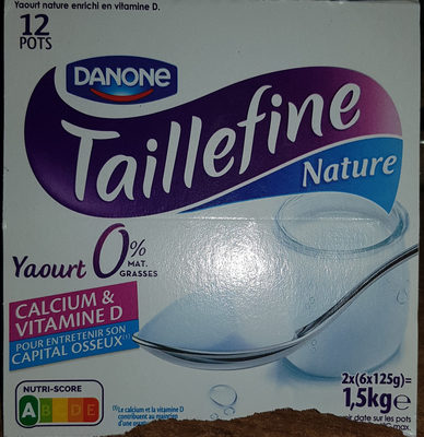TAILLEFINE NATURE 0% - Product
