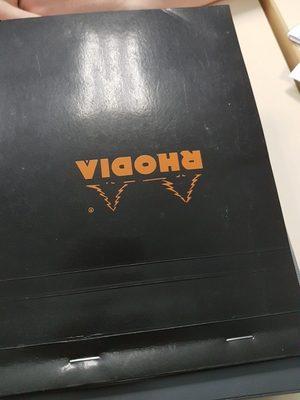 Bloc notes, petits carreaux, format A5 (14,8x21cm), 80 pages - Ingredients