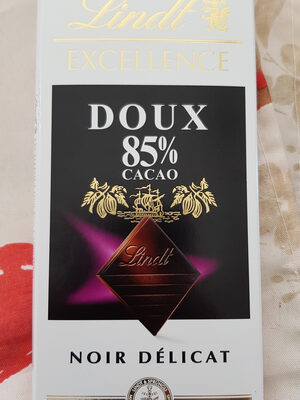 Lindt Doux 85% Cacao - Product - fr