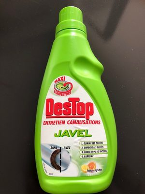destop javel canalisation - Product
