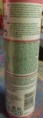 100% naturel Fleurs de cerisier - Ingredients - fr