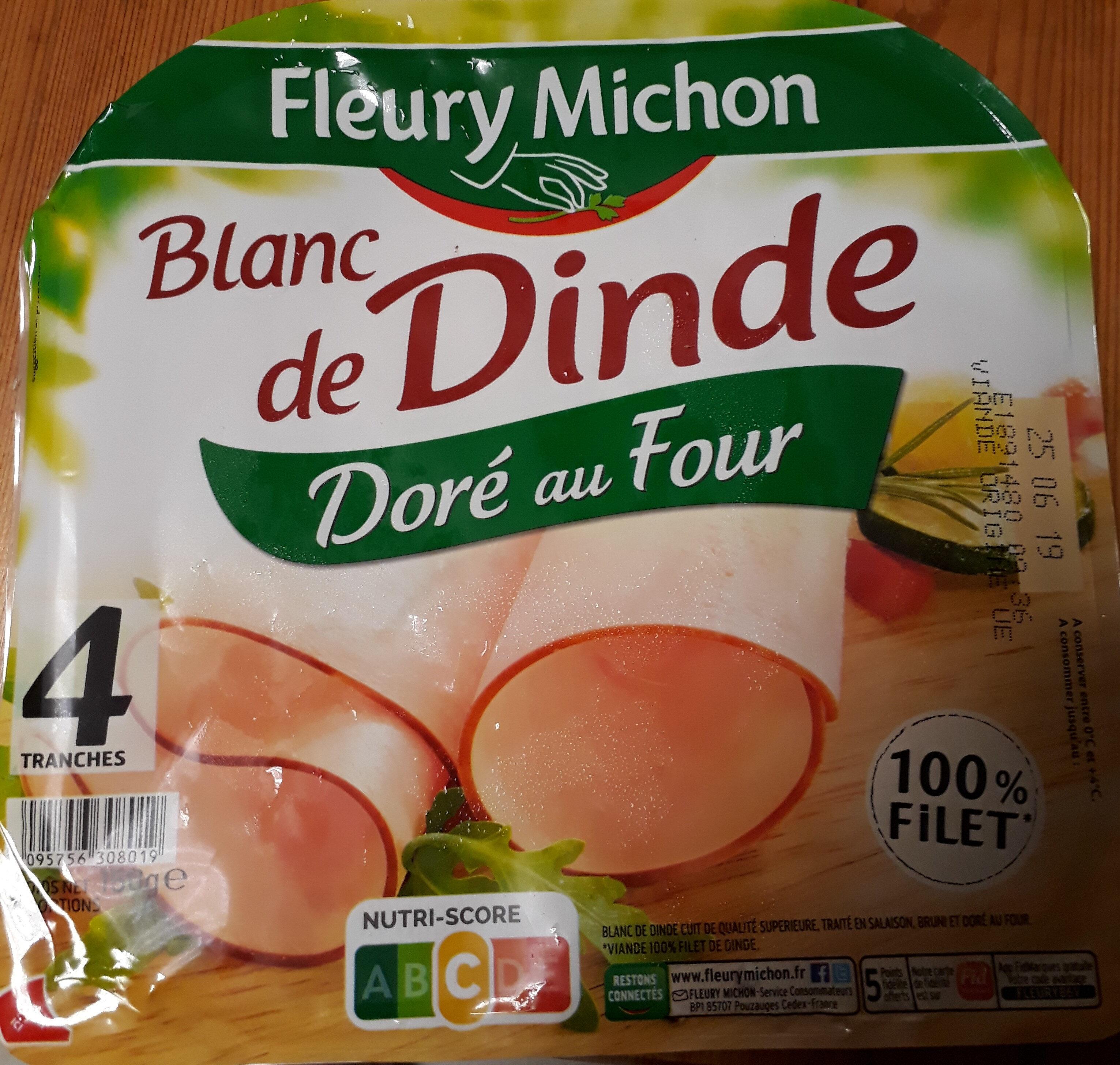 blanc de dinde doré au four - Product