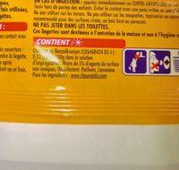 Lingette st marc - Ingredients - fr