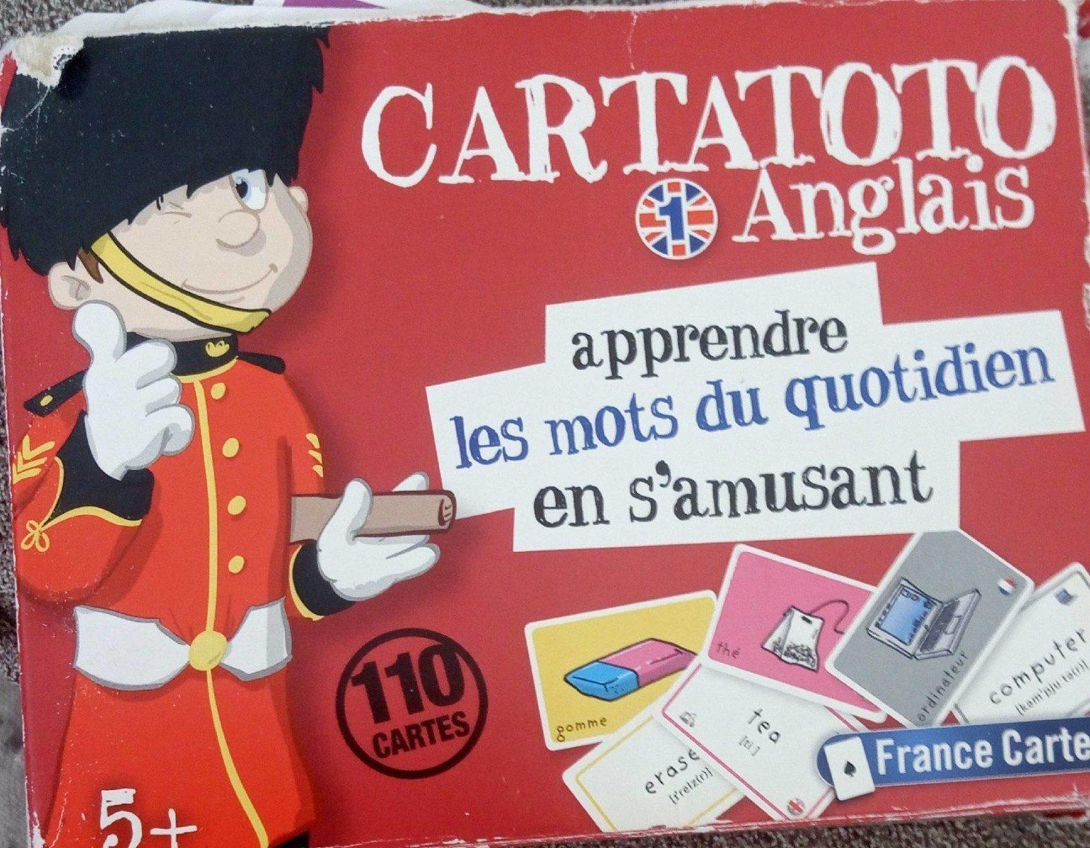 Cartatoto Anglais - Produit - fr