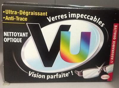 Lingette nettoyant optique - Product