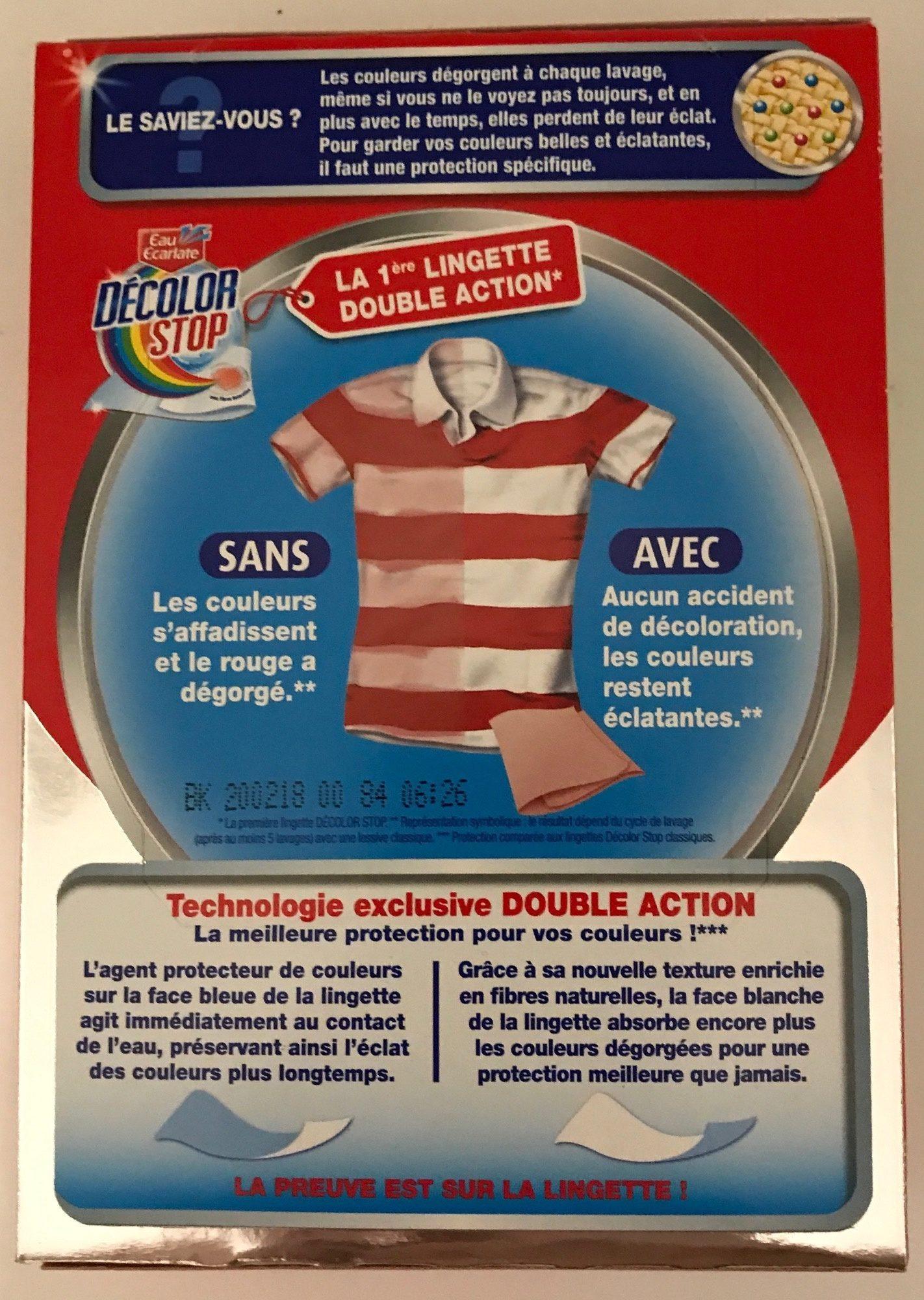 Décolor Stop double action Eclat & Couleurs - Ingredients - fr