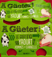 Yaourt pomme-cannelle - Product