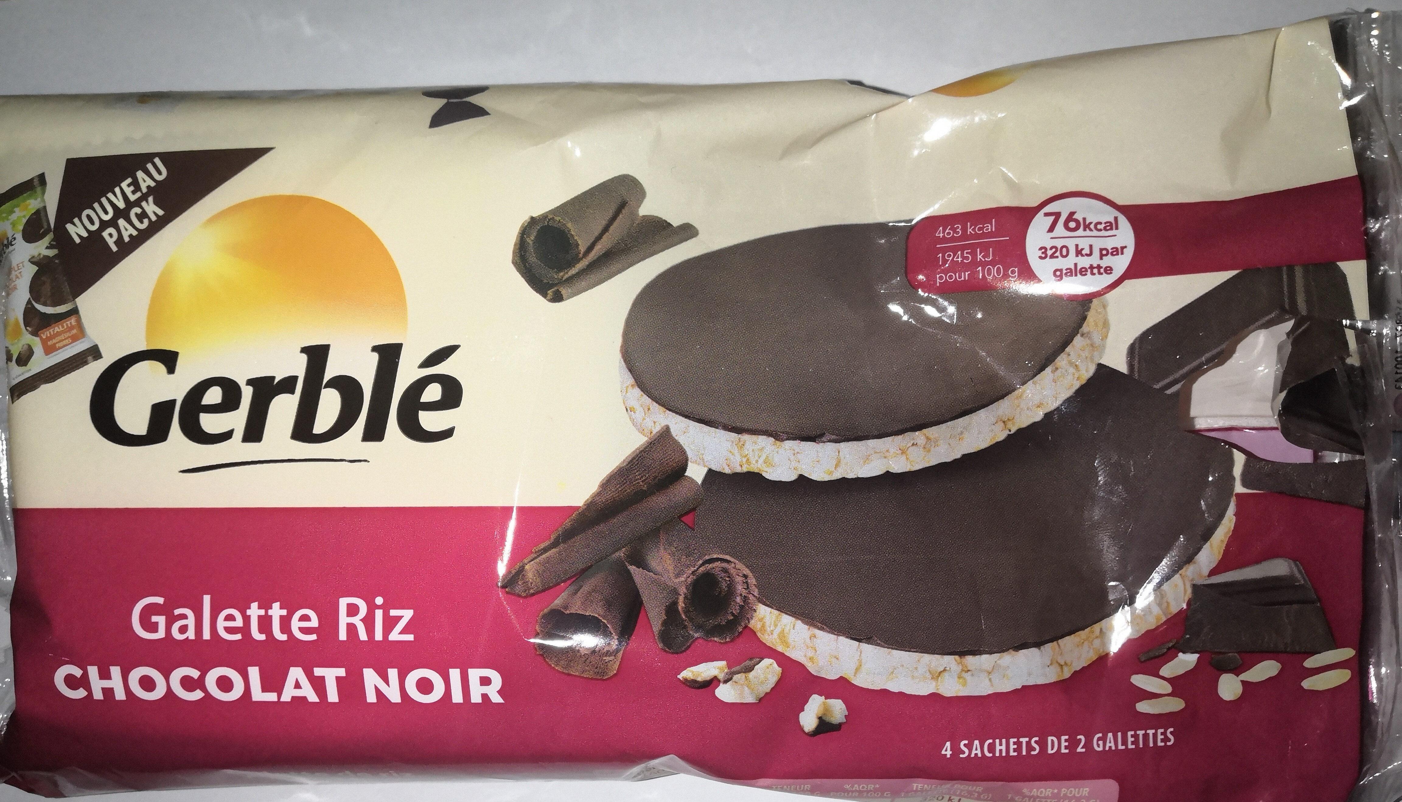 Galette riz Chocolat noir - Product - fr