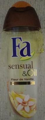 Sensual oil fleur de vanille à l'huile d argan - Produit
