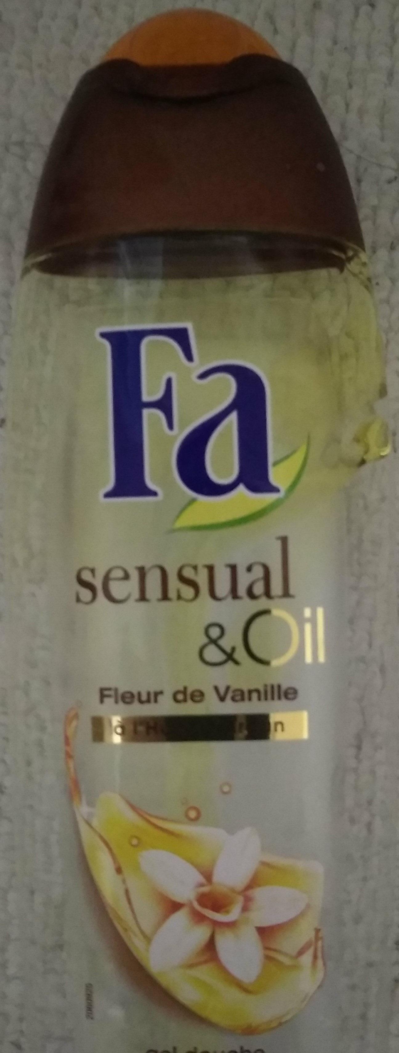 Sensual oil fleur de vanille à l'huile d argan - Product - fr