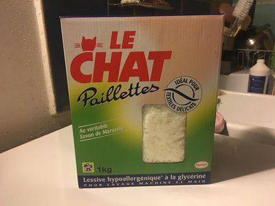 Paillettes au véritable savon de Marseille - Produit