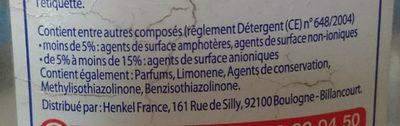 Mir VSL Andalousie Figue - Ingredients