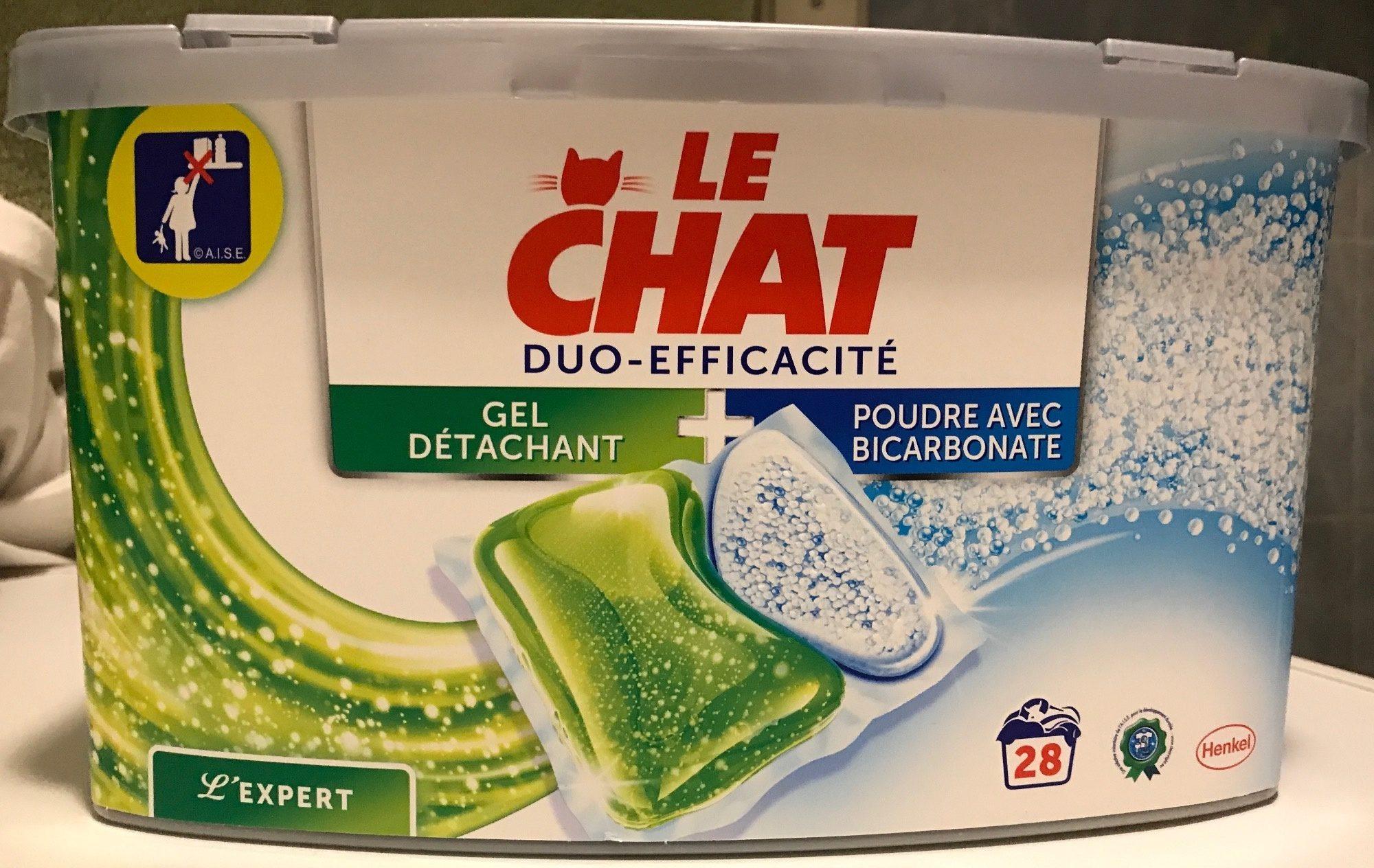 L'Expert Duo-efficacité Gel détachant + Poudre avec Bicarbonate - Produit
