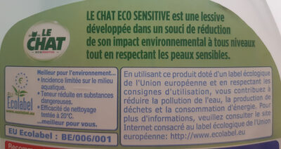 Le Chat Éco Sensitive - Product - en