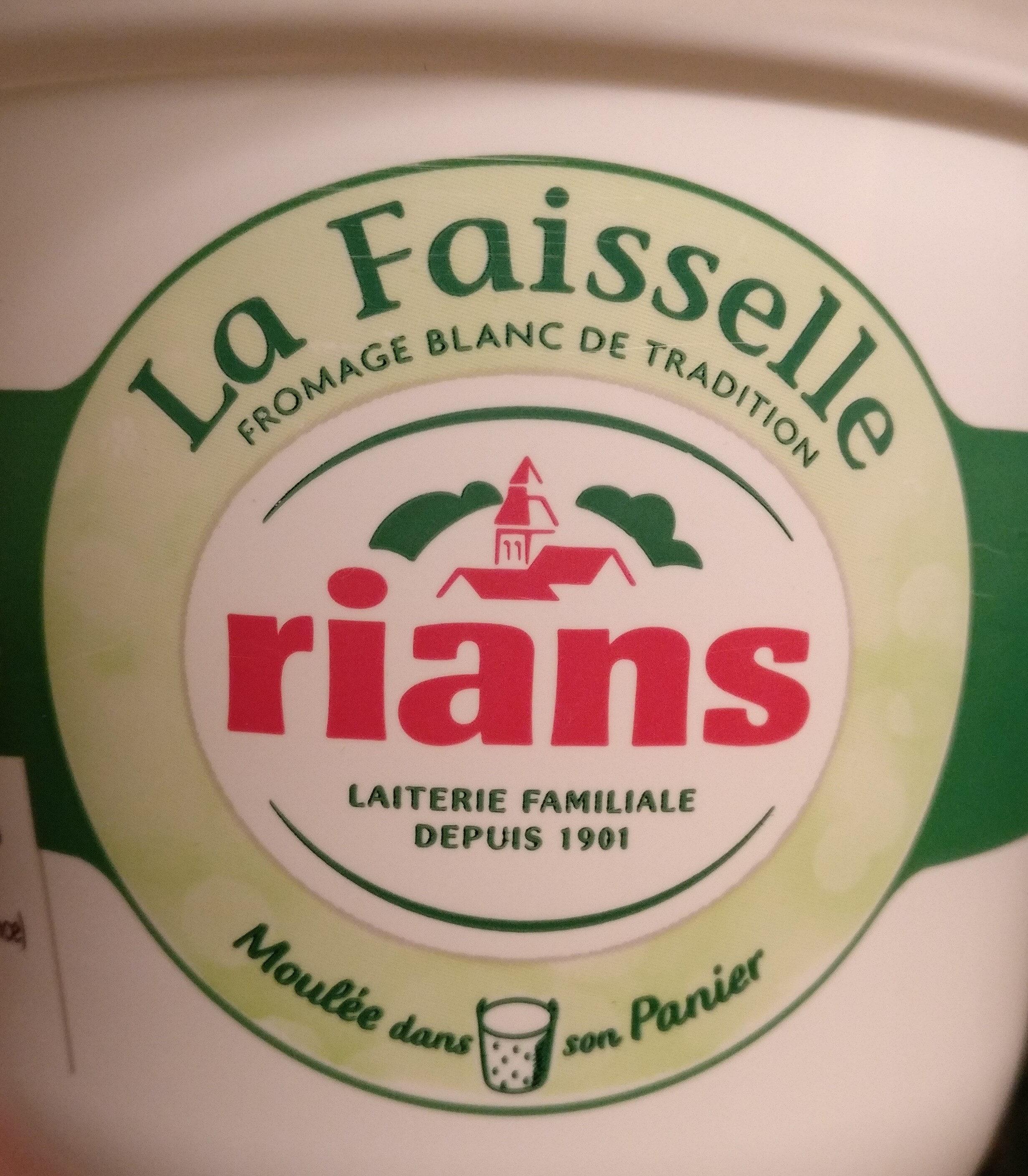 la faisselle - Produit - fr