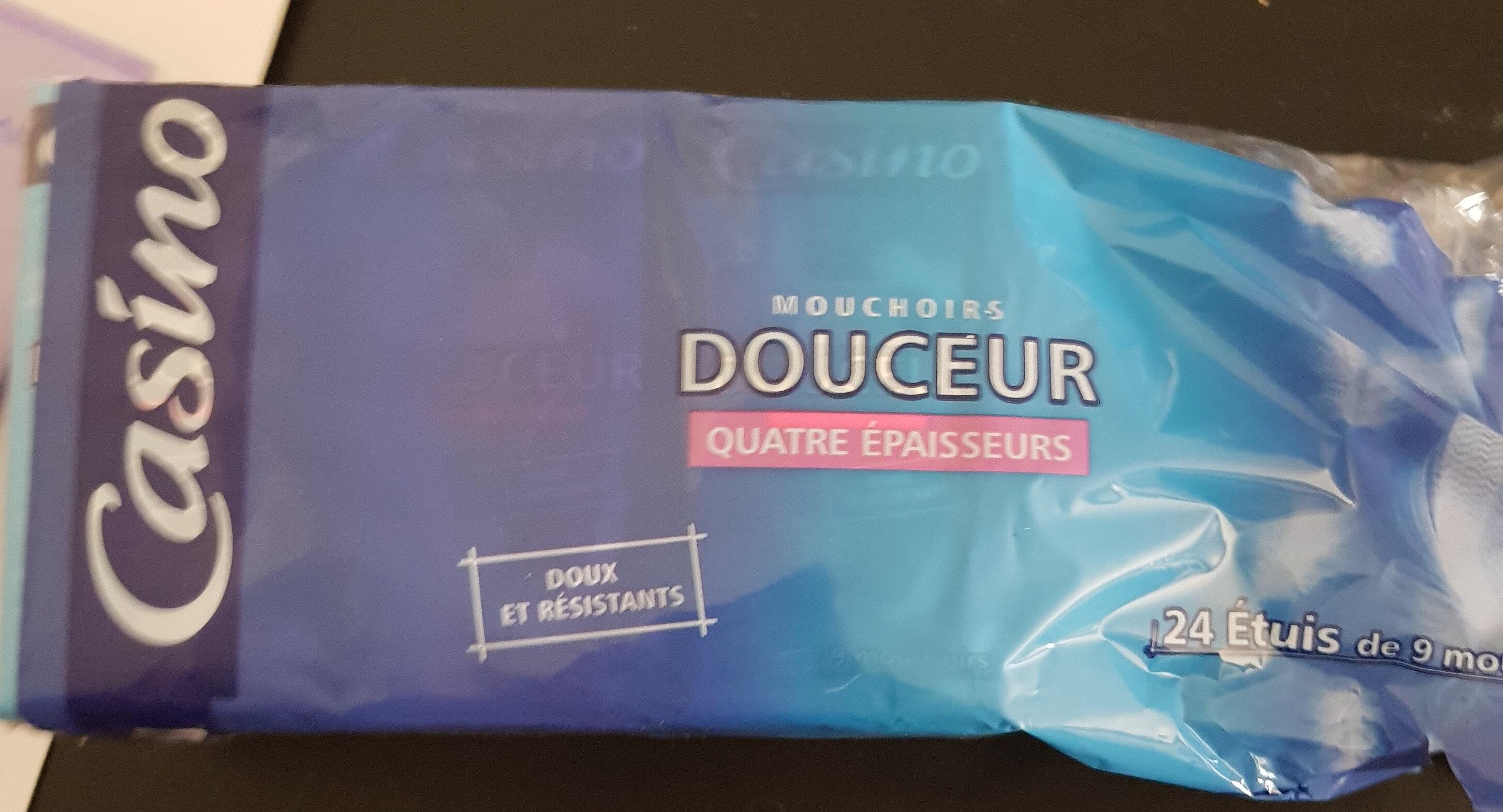 mouchoirs douceur casino - Product - fr