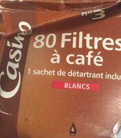 80 filtres a café - Product - fr