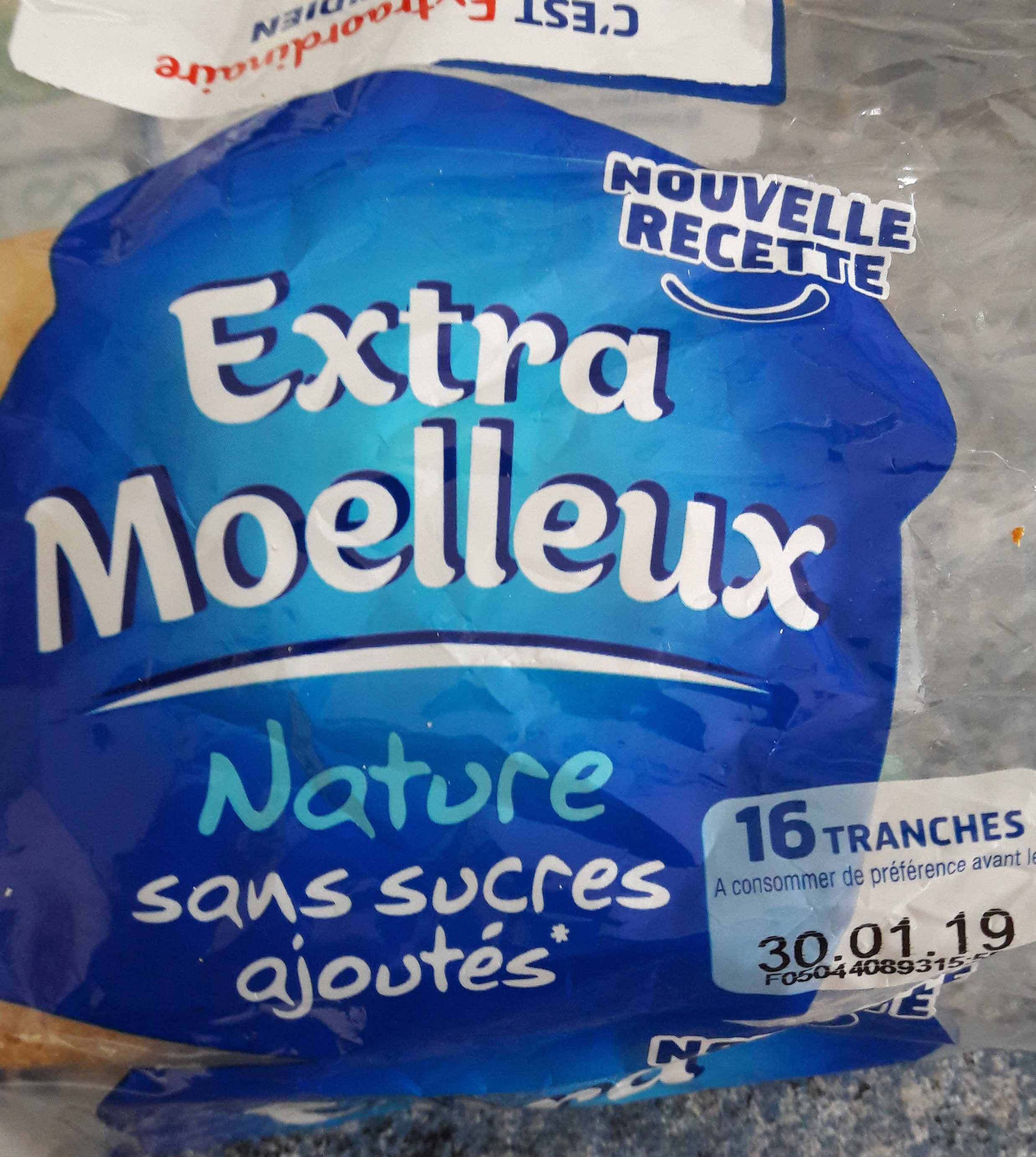 Harrys extra moelleux nature - Product - fr