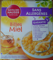 billes miel - Produit