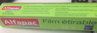 Film étirable 50 m Alfapac - Lot De - Product - fr