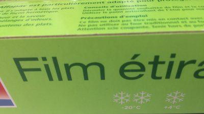 Film étirable 50 m Alfapac - Lot De - Ingredients - fr