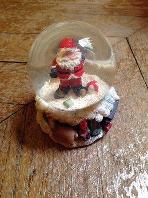 Santa snowglobe - Produit