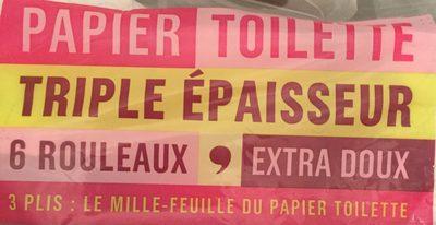 Papier toilette triple épaisseur - Ingredients