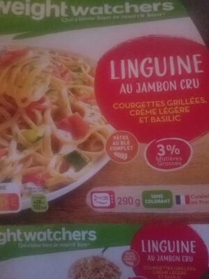 linguine au jambon cru - Product - fr