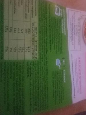 linguine au jambon cru - Ingredients - fr