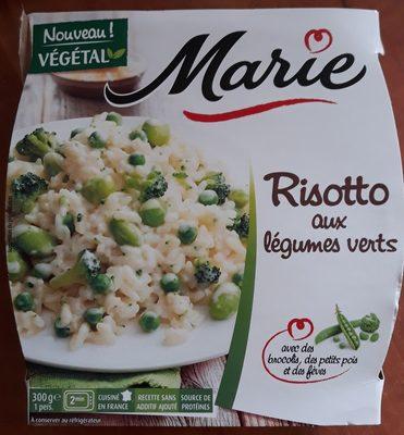 Risotto aux légumes verts - Product