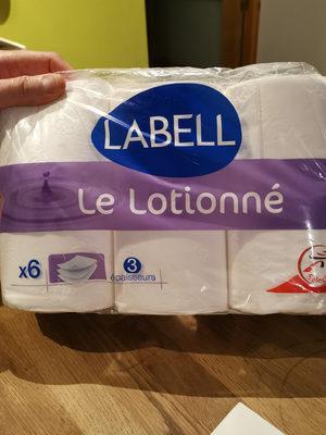 label lotioné - Produit