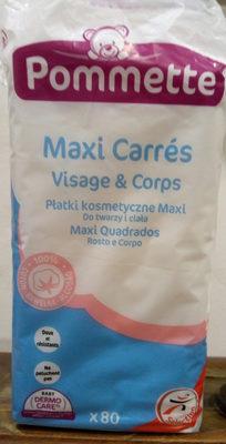 Maxi carrés Visage & Corps - Product - fr