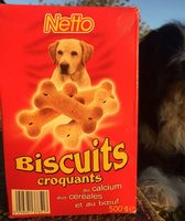 Netto Biscuits Croquants Au Calcium Cereales Viandes - Product