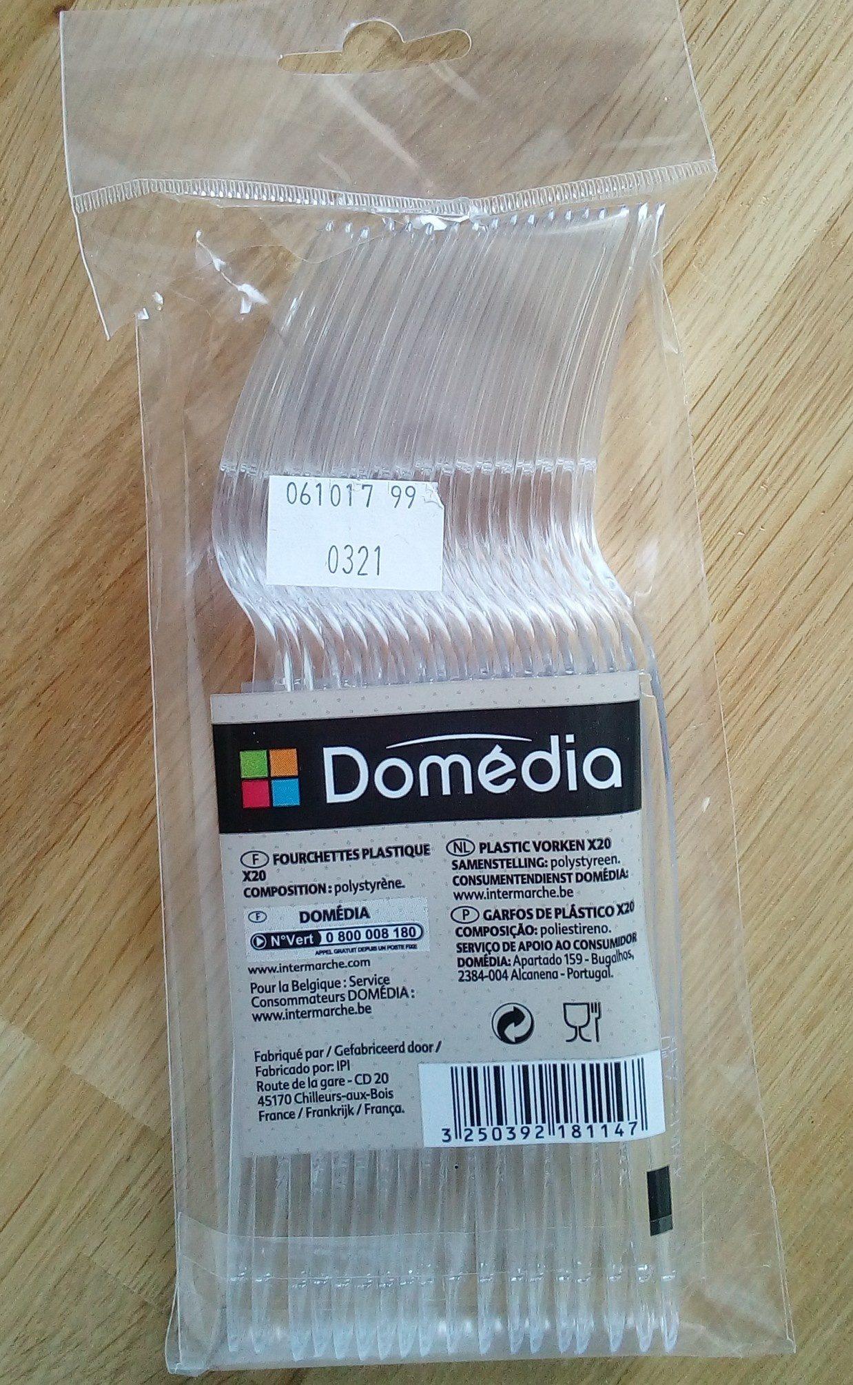 Fourchettes plastiques - Produit