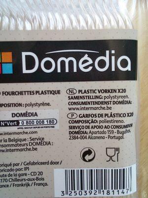 Fourchettes plastiques - Ingredients
