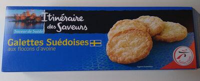 Galettes suédoises - Product