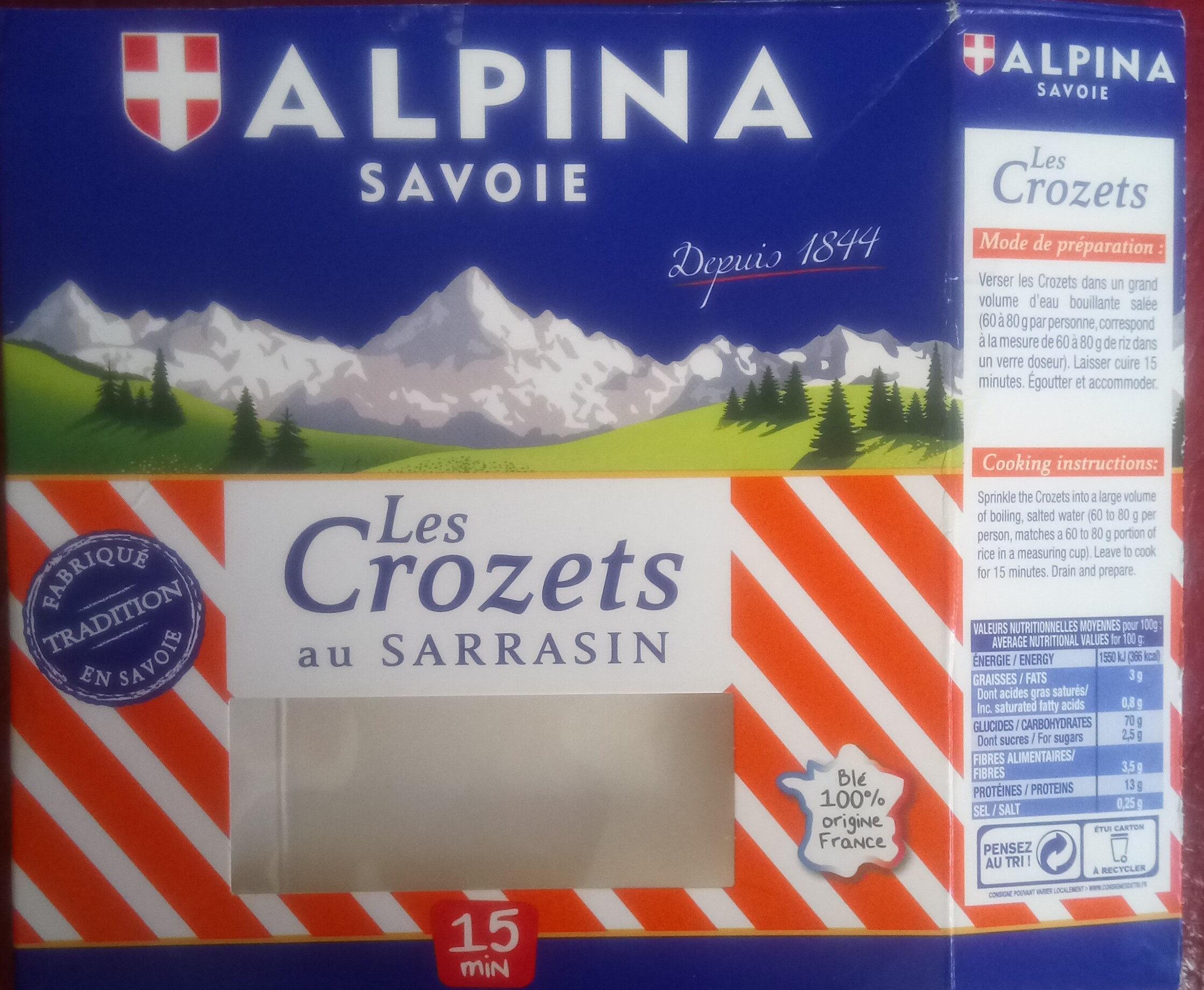 les crozets au sarrasin - Product - fr