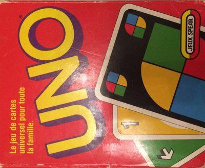 Jeu De Carte Universal Pour Toute La Famille Uno - Ingredients