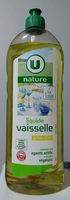 liquide vaisselle parfum citron - Product