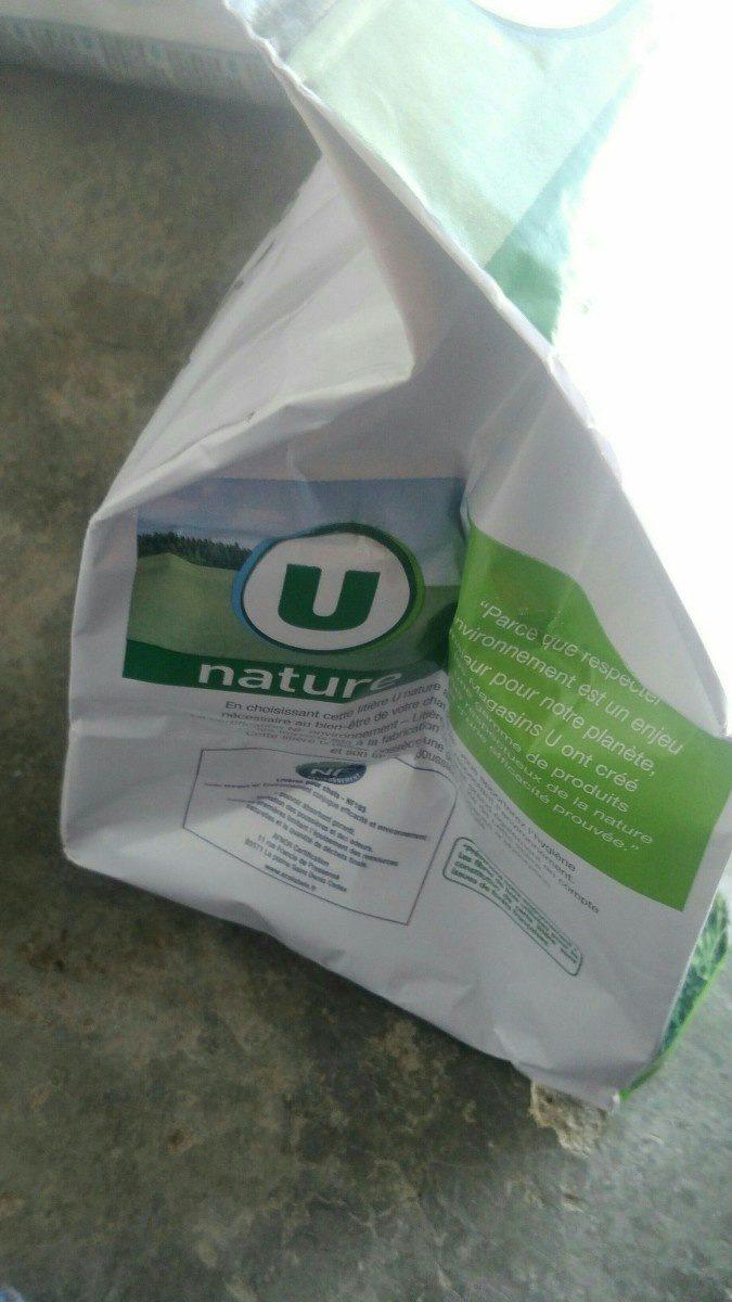 Litière végétale haute absorption U NATURE 10L - Ingrédients - fr