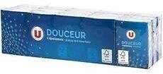 U douceur 110 mouchoirs blanc - Product - en