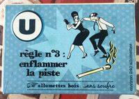 Allumettes U - Product - fr