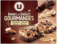 Barres de céréales chocolat cacahuètes - Product - fr
