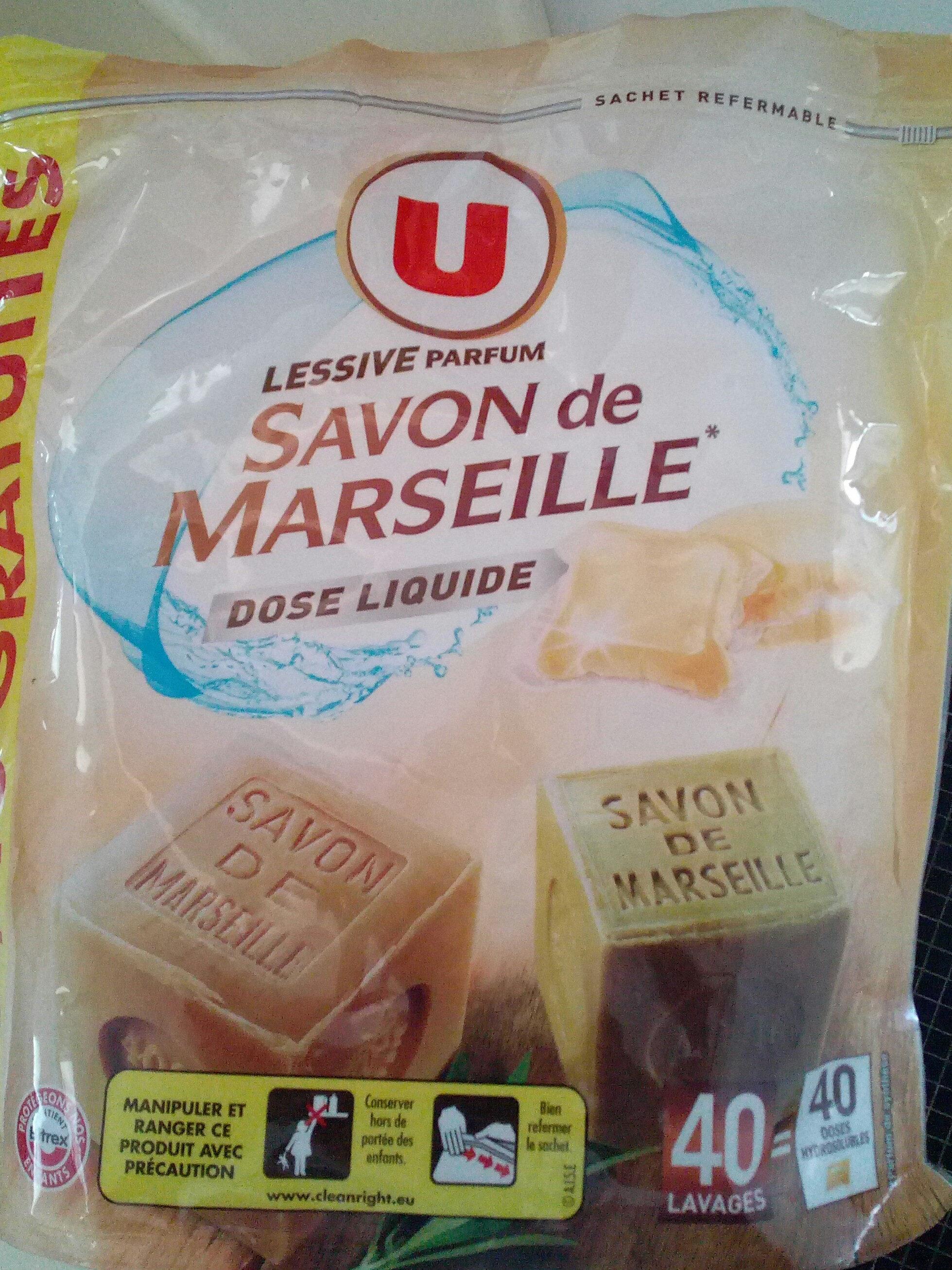 lessive savon de Marseille - Product