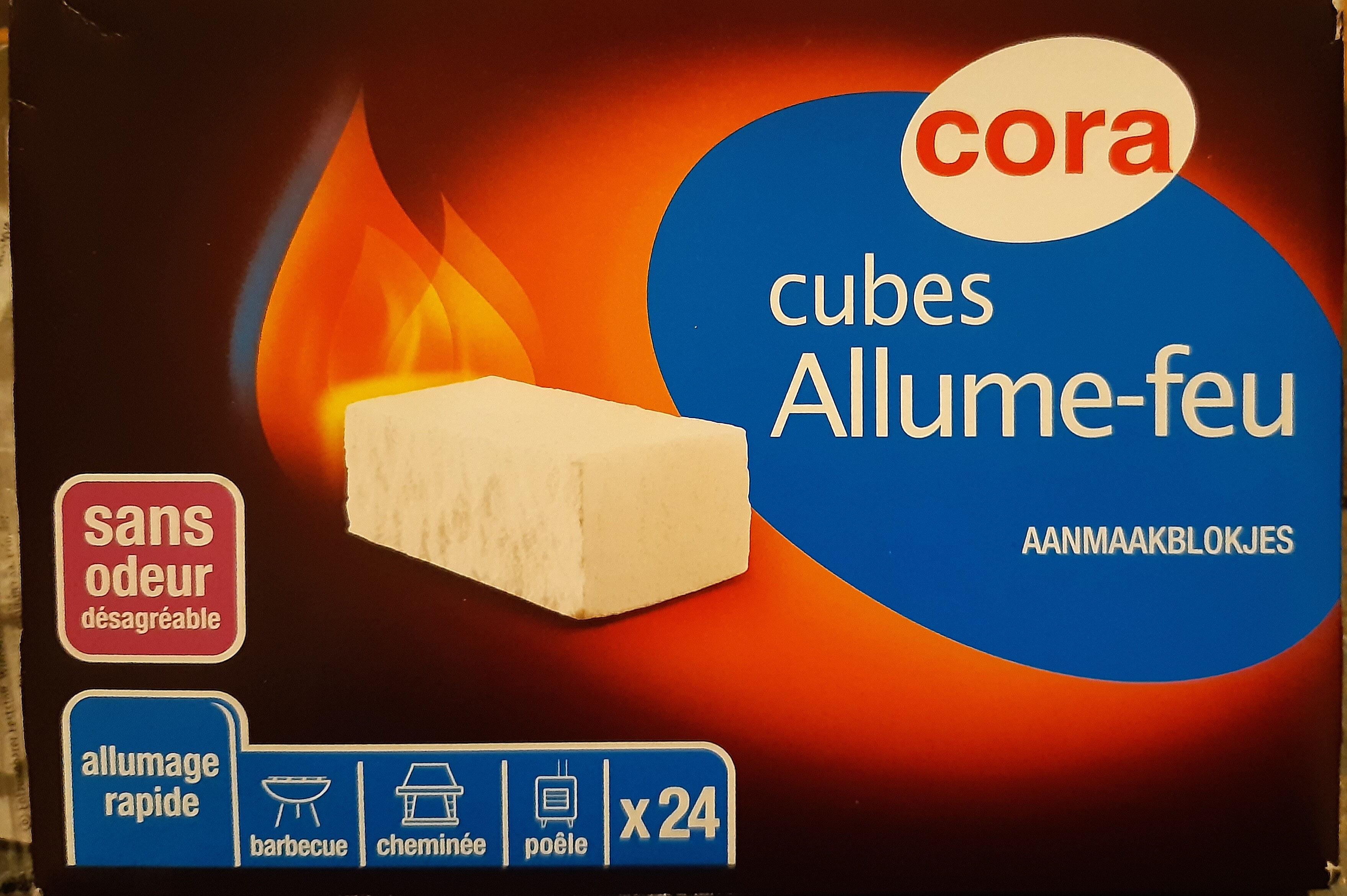 Cubes Allume-feu - Product - fr