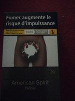 American spirit yellow - Product - fr